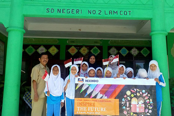 'CSR: Inspire The Future' in Aceh