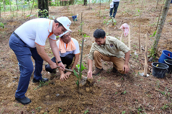 Reforestation Activity in 30RN TO CARE