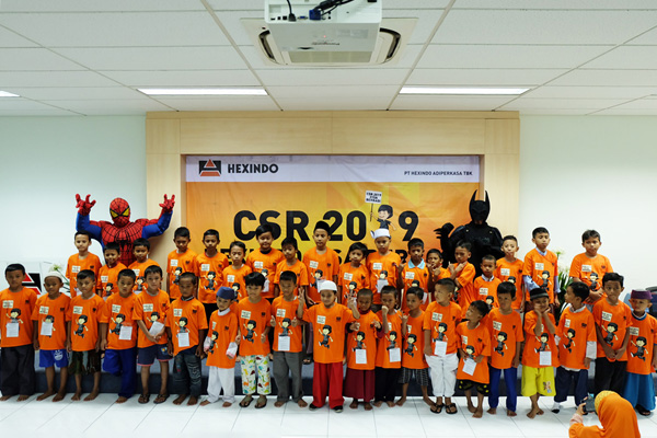 Hexindo Held Mass Circumcision Activity in CSR 31SA Berbagi