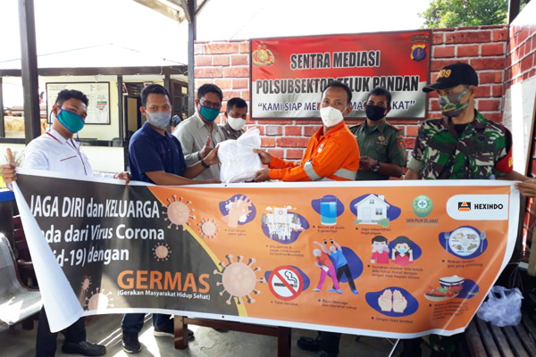 Hexindo Donates During the COVID-19 Pandemic